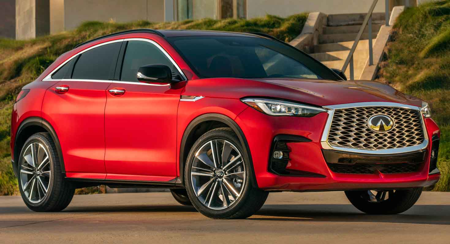 The All-New 2021 Infiniti QX55 – An Exceptional Luxury Crossover