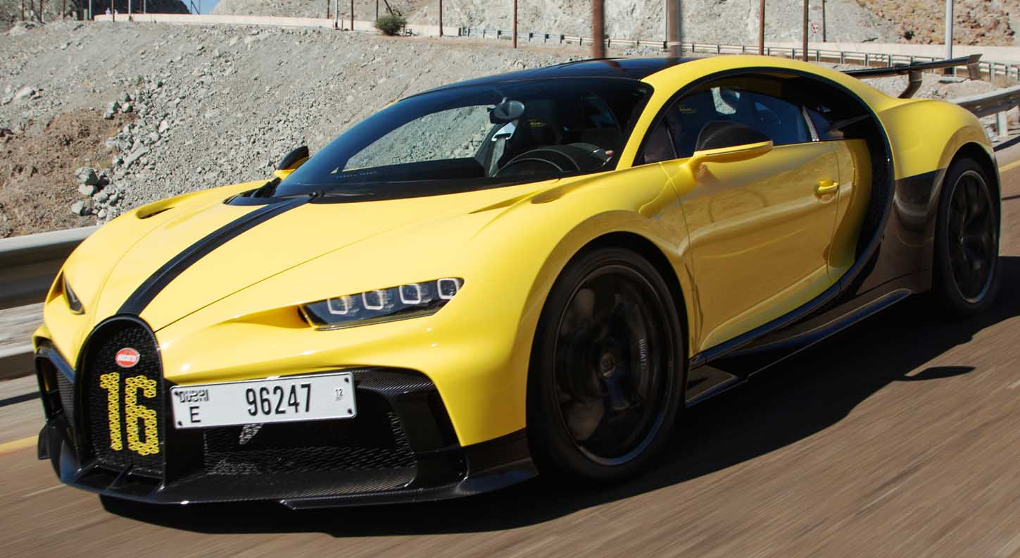 Bugatti Chiron Pur Sport – Driving in the Hajar Mountains (Video Inside)