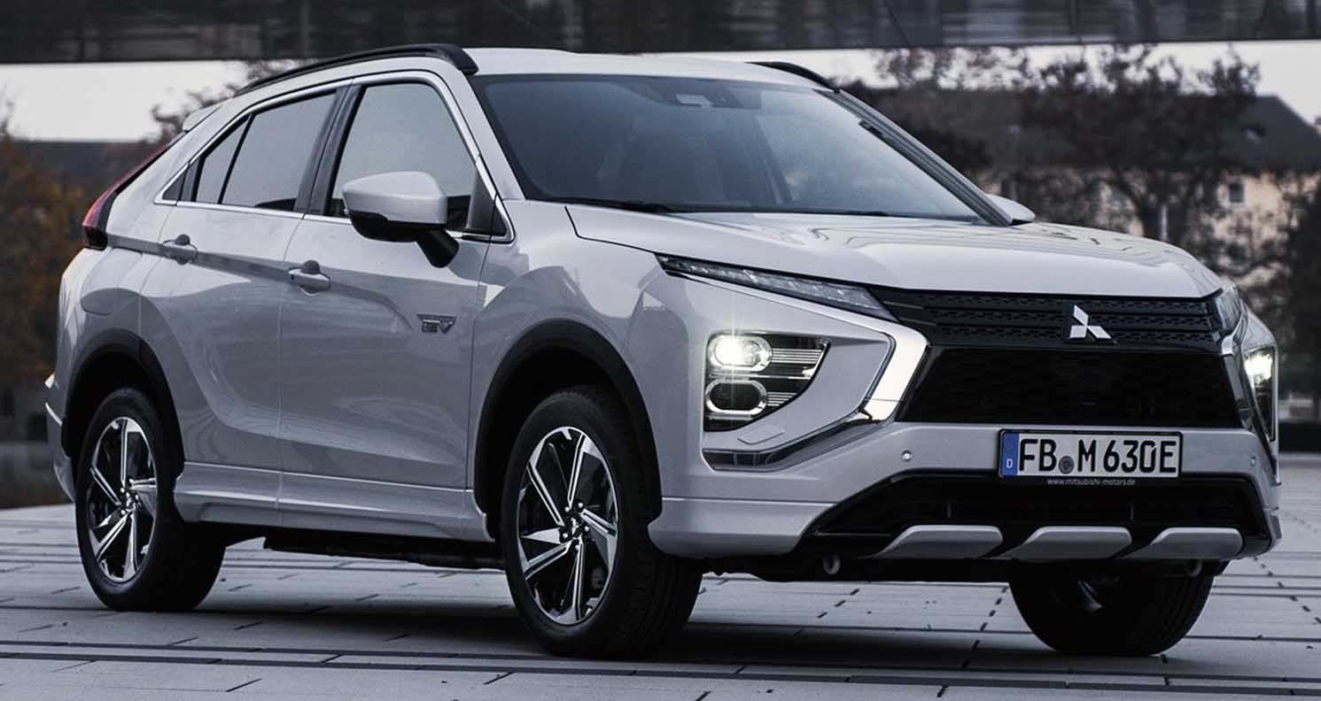 The Restyled 2022 Mitsubishi Eclipse Cross – sporty SUV appearance and improved driving confidence and comfort