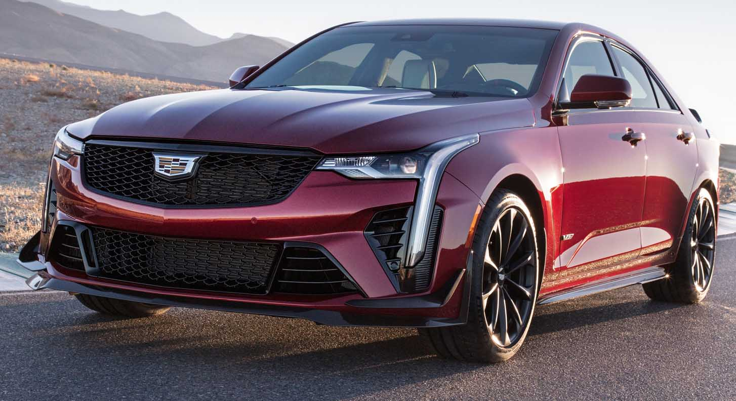 The All New Cadillac CT4 Blackwing