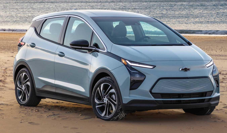 The New Chevrolet Bolt EV 2022