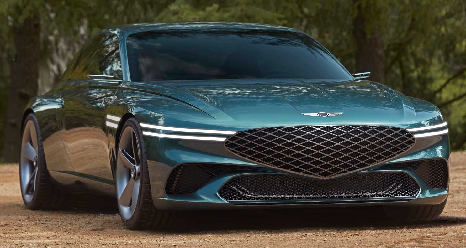Genesis X Concept – Sustainable Luxury High-Performance Electric GT Coupe