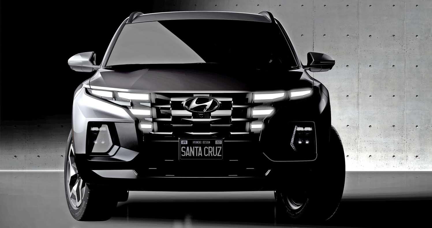 Hyundai Releases Teaser Sketch Of Segment-Shattering Santa Cruz