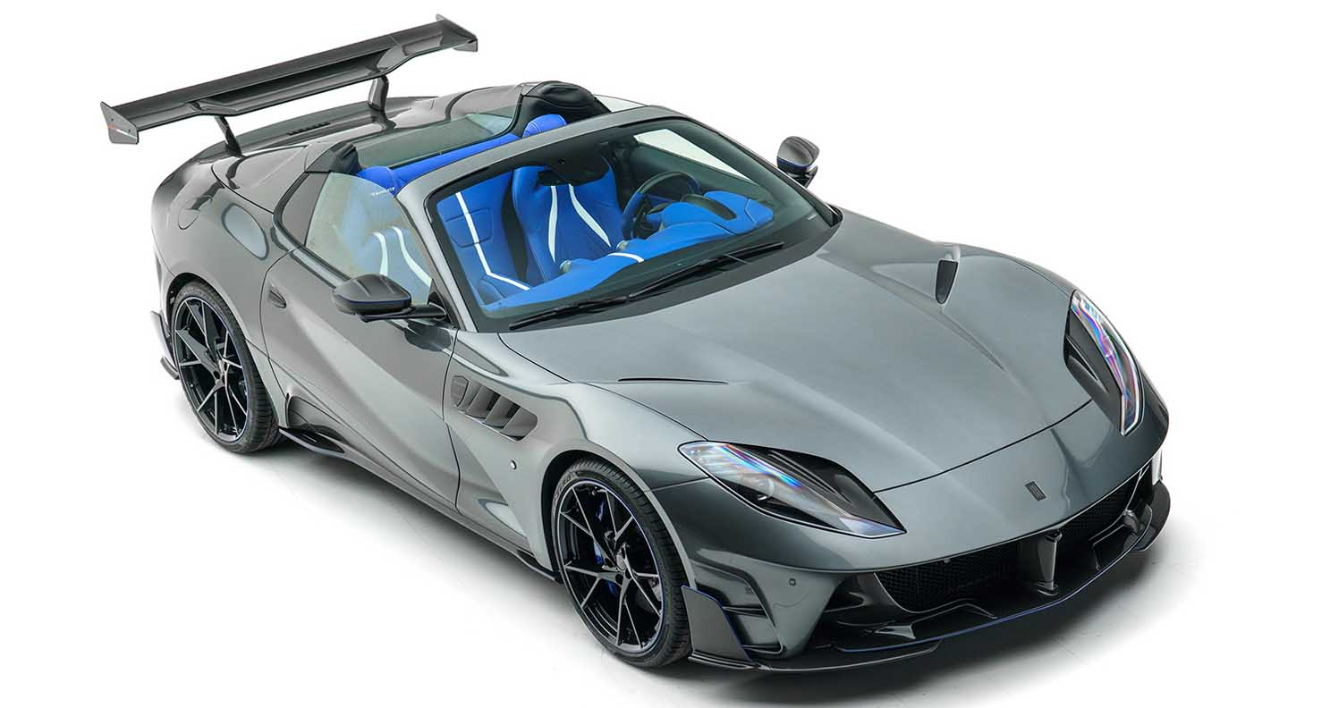 Mansory Stallone GTS 2021 – Complete Vehicle Conversion Based On The Ferrari 812 Gts