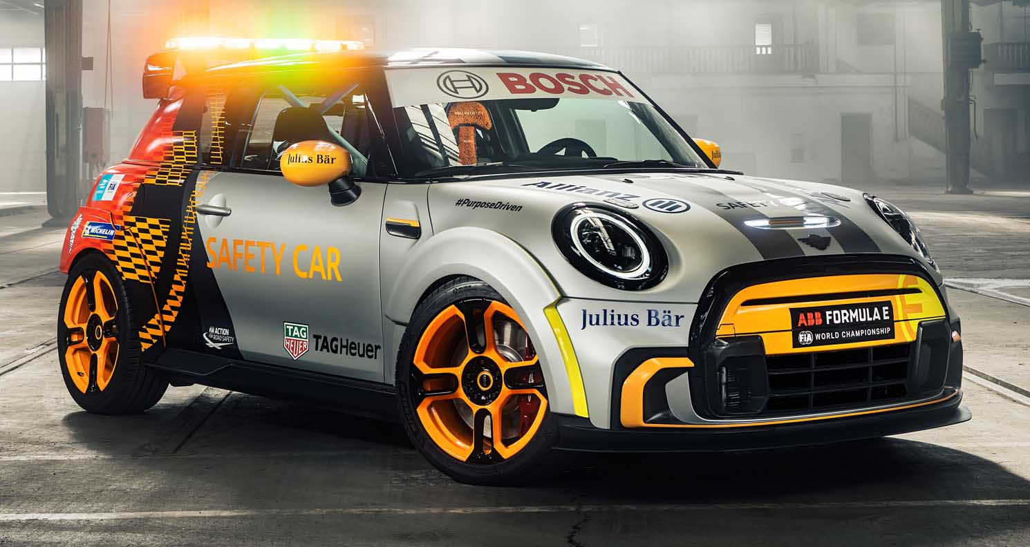 Mini Electric Pacesetter (2022) Inspired By JCW – The Formula E New Safety Car