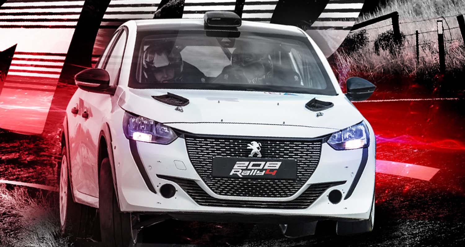 100th Delivery The Peugeot 208 Rally4 An Ongoing International Succes