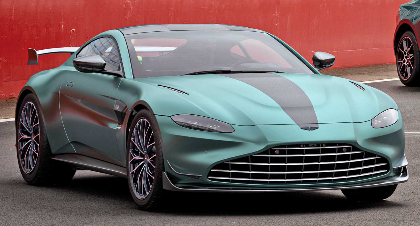 Introducing the Vantage F1 Edition – Race-track performance on the road