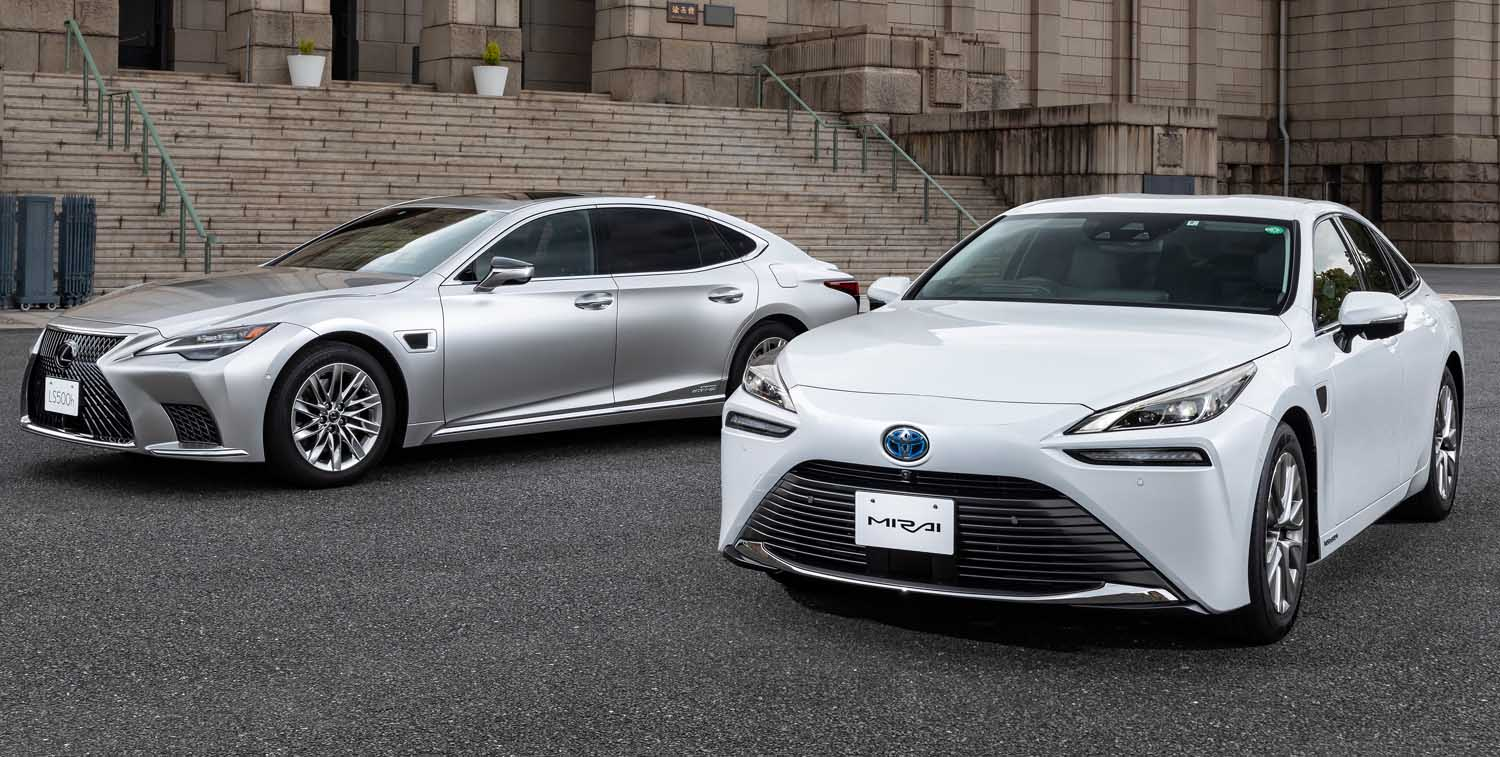 """Toyota Launches LS and Mirai Equipped with """"Advanced Drive"""" New Technology"""