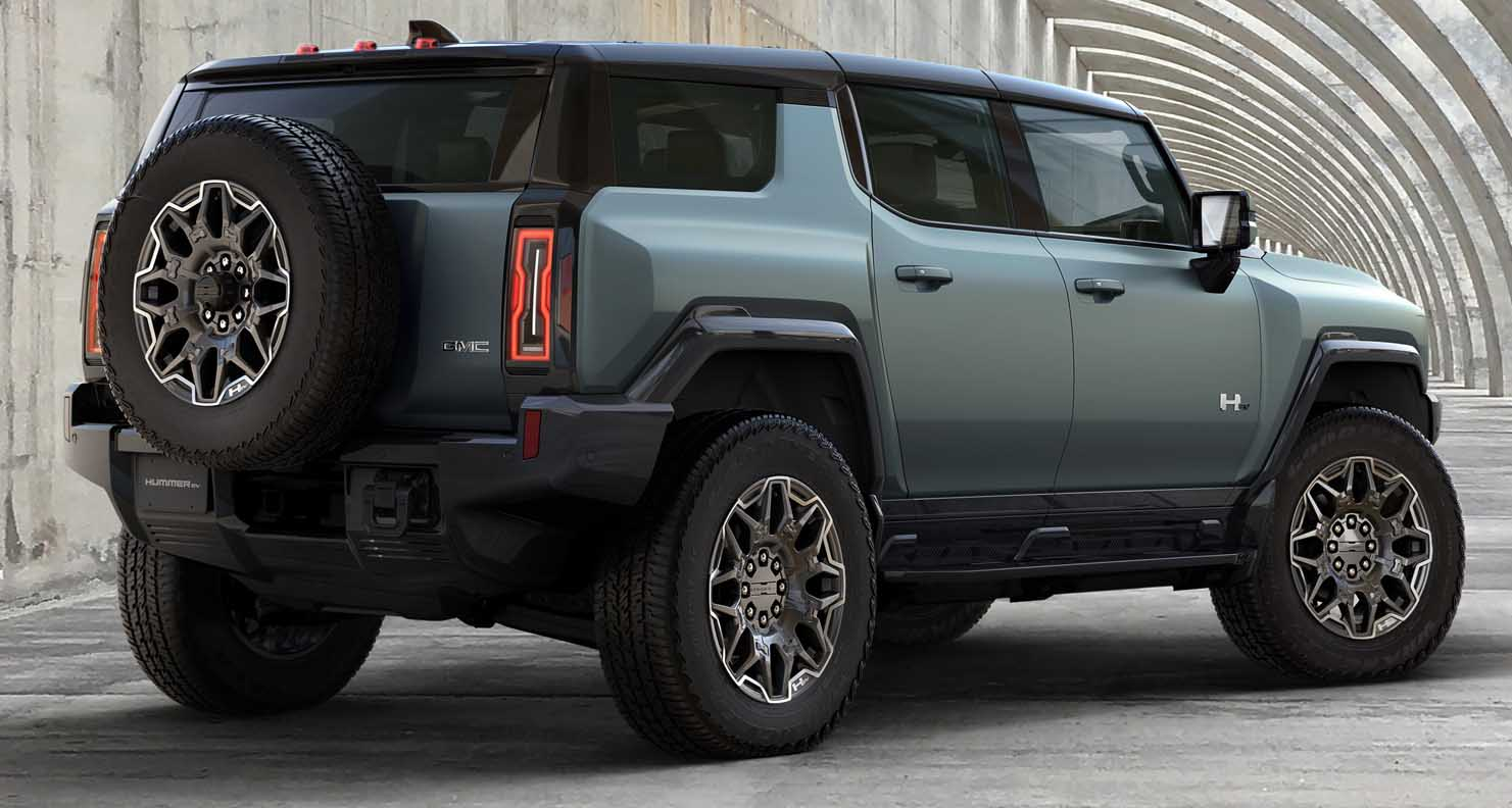 GMC Hummer EV SUV (2024) – The Most Capable And Compelling Electric Supertrucks Ever