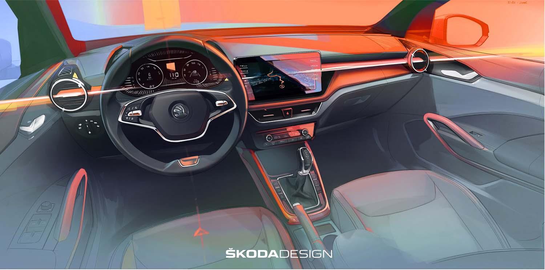 First Impression Of The New Škoda Fabia's Interior