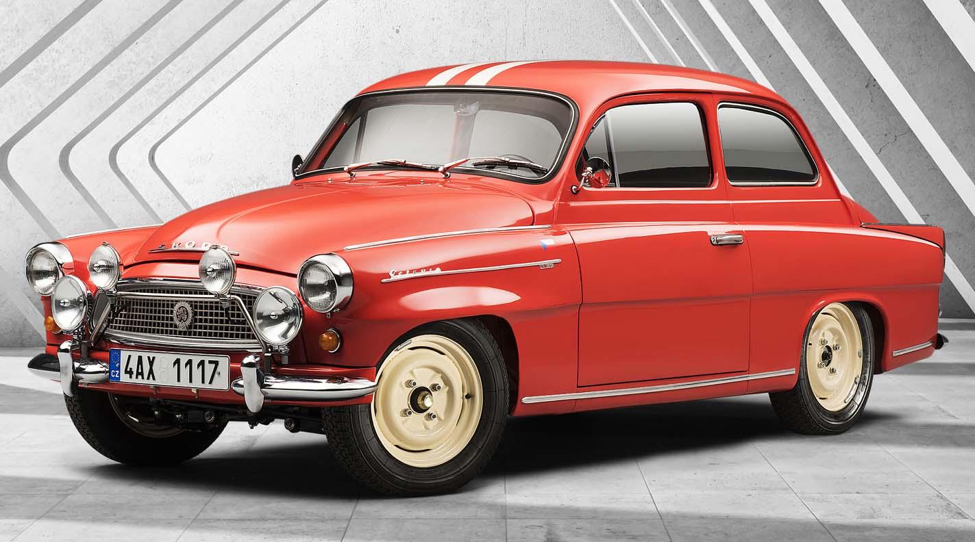 Škoda Octavia Touring Sport (1960): Successful Return To International Rally Courses