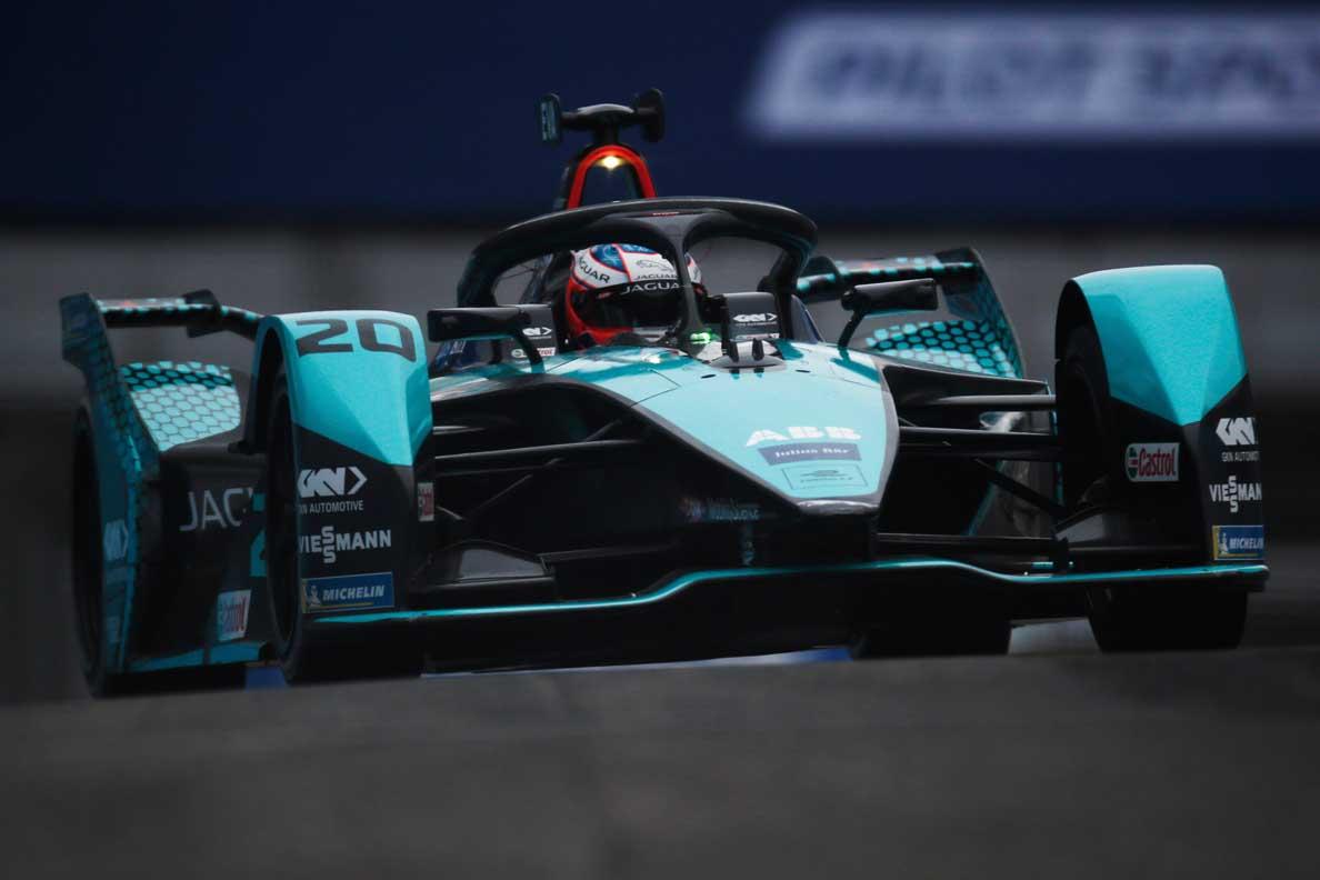 Jaguar Secures First Formula E Double Podium In Rome