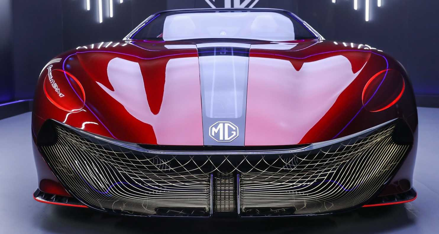 MG Cyberster Concept – Futuristic Electric And Sporty With A Vintage Classic Twist