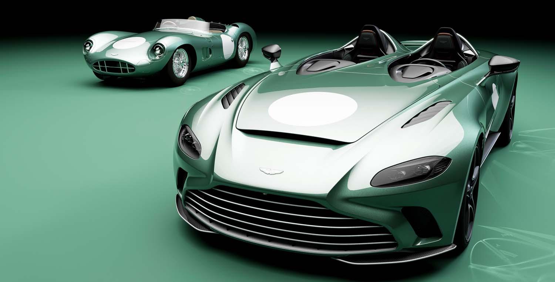 Aston Martin V12 Speedster DBR1 – Optional Specification