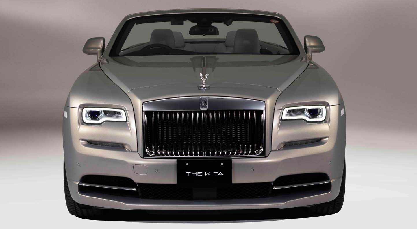 """Rolls Royce Dawn """"The Kita"""" – Inspired By The Japanese Architecture"""