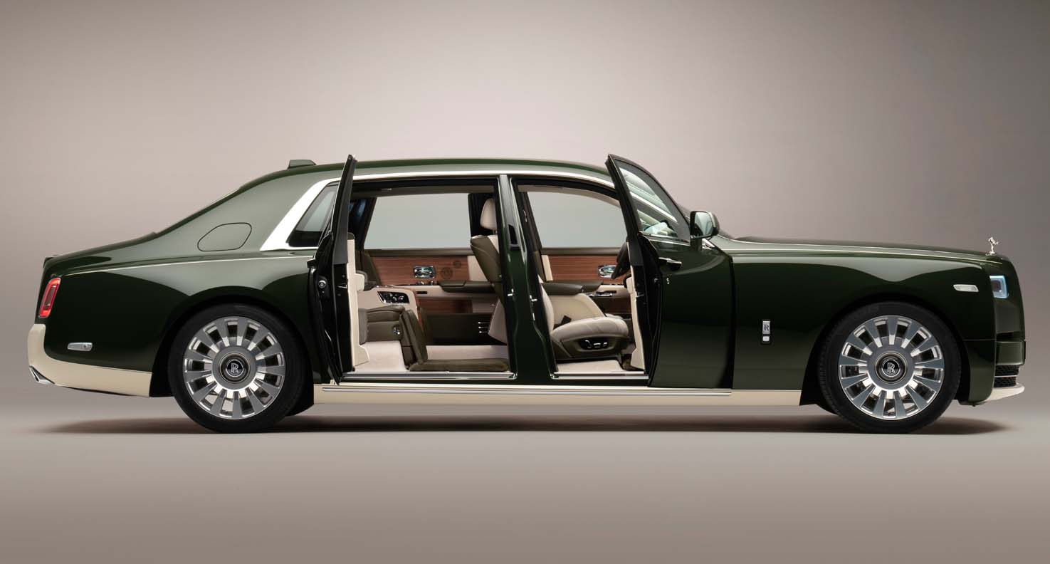 The New Bespoke Rolls-Royce Phantom Oribe – Designed With Collaboration With Hermès