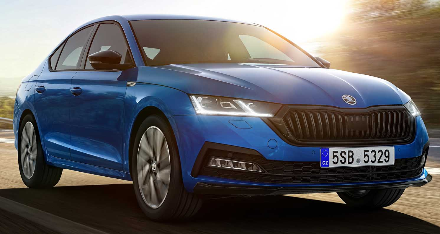 Škoda Octavia Available As Sportline Version For The First Time
