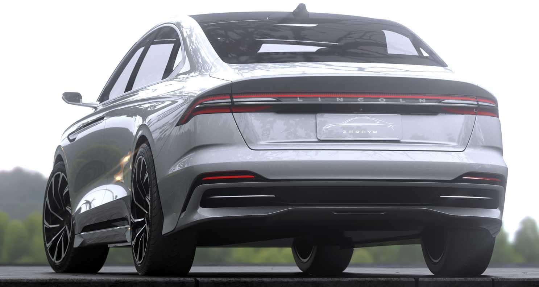 Lincoln Zephyr Reflection Concept (2021)