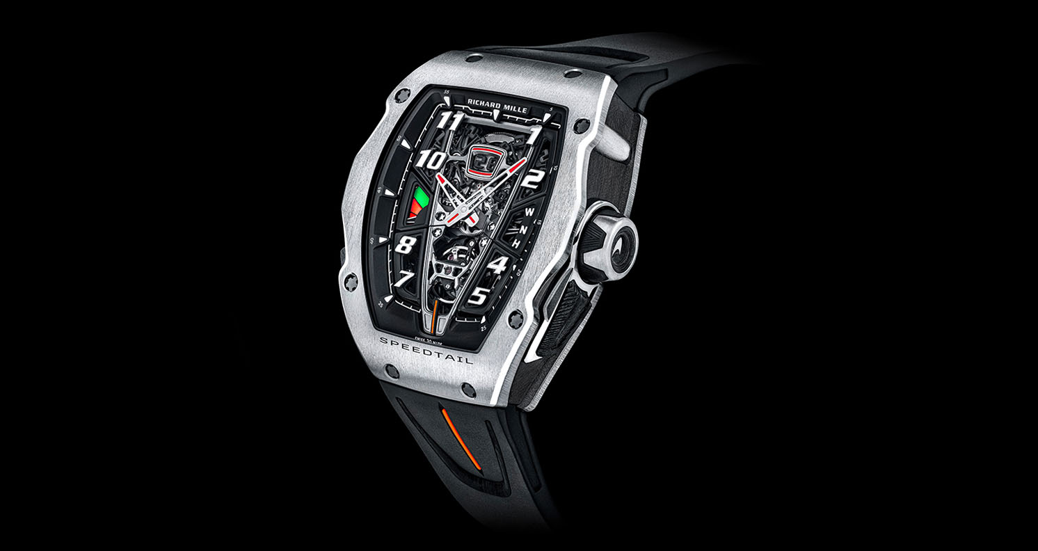 McLaren Automotive and Richard Mille unveil exclusive RM 40-01 Speedtail timepiece
