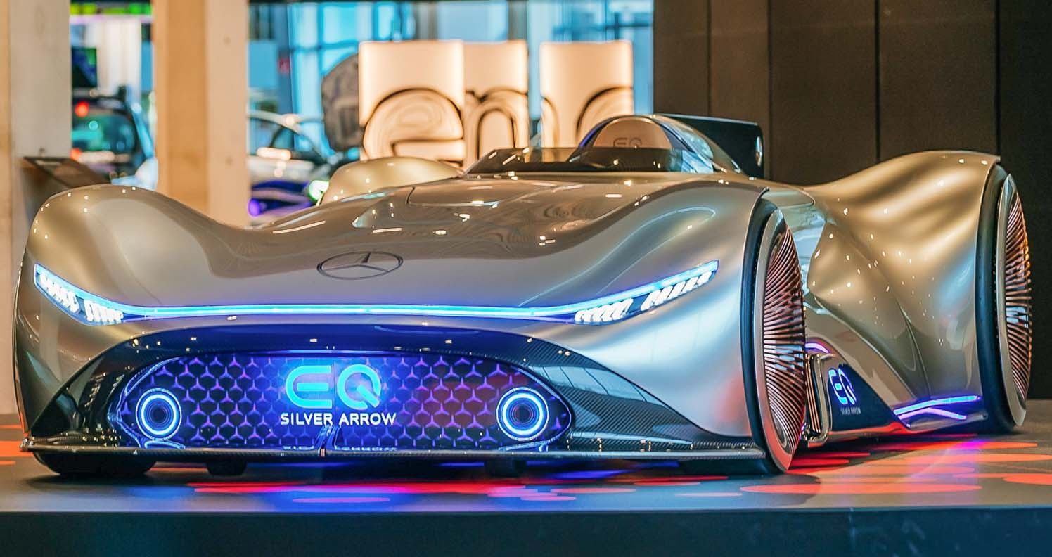 Special Exhibition At The Mercedes-Benz Museum – Future Mobility