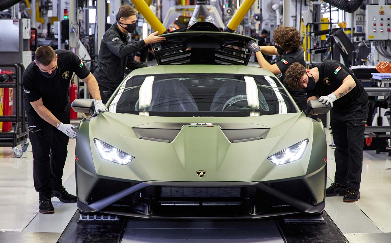 Lamborghini Announces Its Roadmap For Electrification