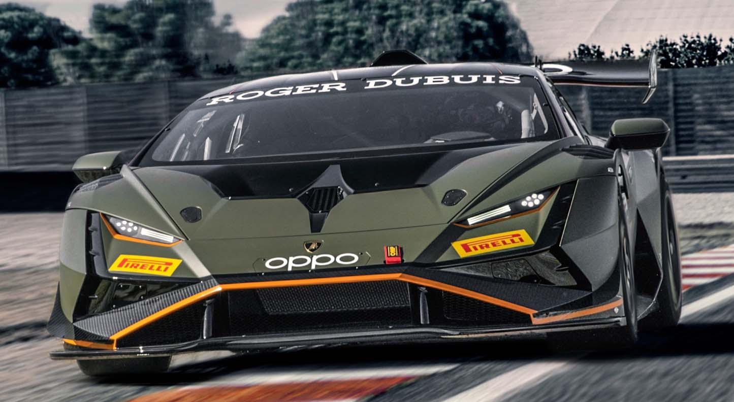 The New Lamborghini Huracán Super Trofeo EVO2