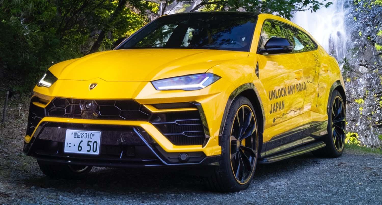 Lamborghini Urus – Unlock Any Road Japan