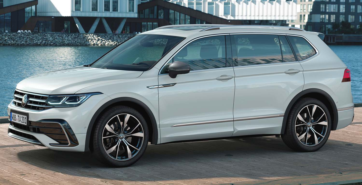 Volkswagen Tiguan Allspace 2022 – New Control And Assist Systems For The Bestseller
