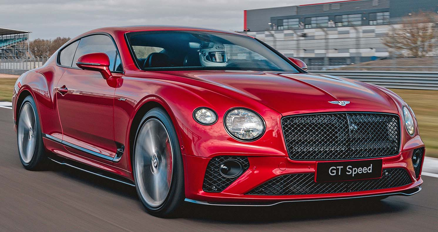 Continental Gt Speed – An Unrivalled Combination Of Dynamic Performance And Luxurious Ride Comfort