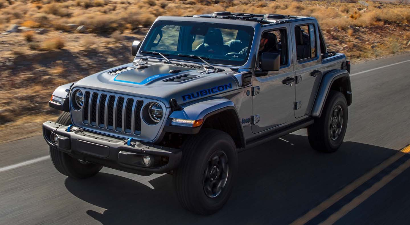 Orders Now Open For The New Jeep Wrangler 4xe Plug-In Hybrid