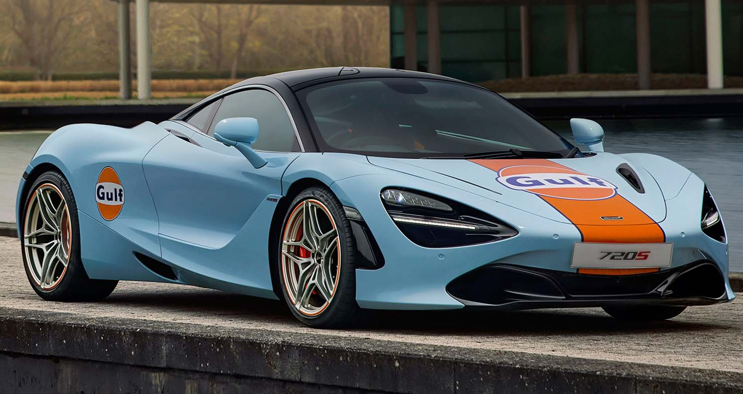 Mclaren 720 S By MSO – The Gulf Livery