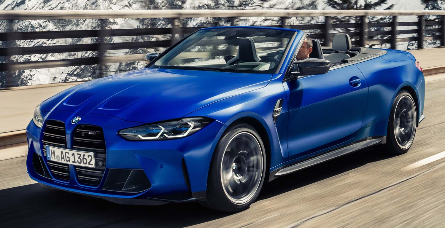 BMW M4 Competition Convertible (2022)