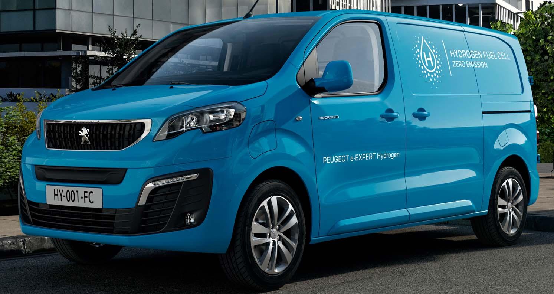 The New Peugeot e-Expert Hydrogen