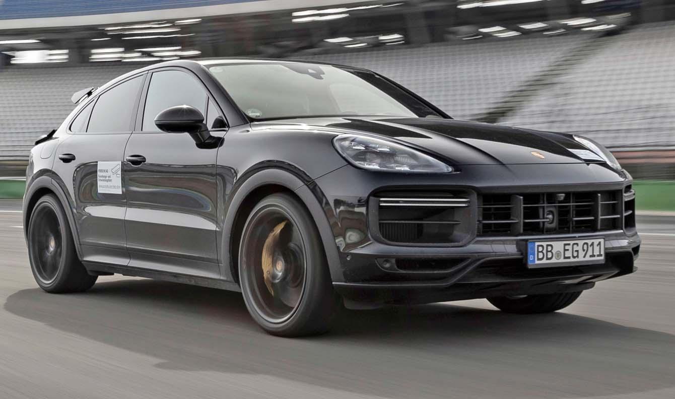 Final Testing For The New High-Performance Cayenne Model