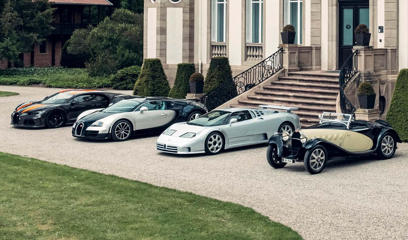 Bugatti's Super Sport Legends