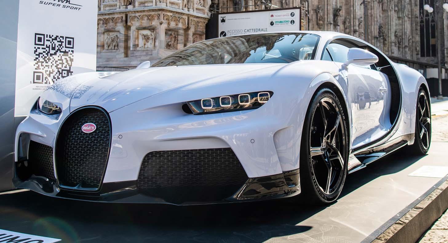 Bugatti Chiron Super Sport – World Premiere At The Milano Monza Motor Show