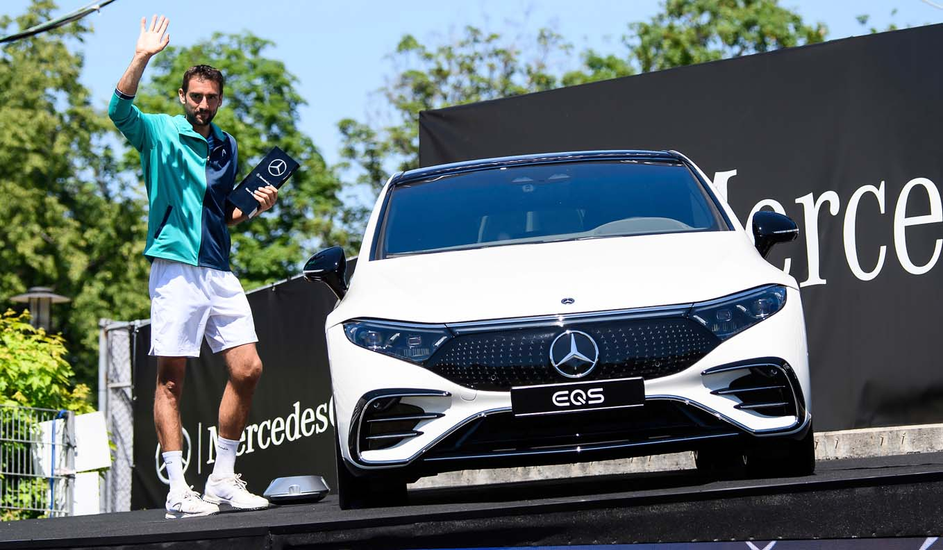 Marin Cilic Wins MercedesCup 2021 And Takes Home The New EQS