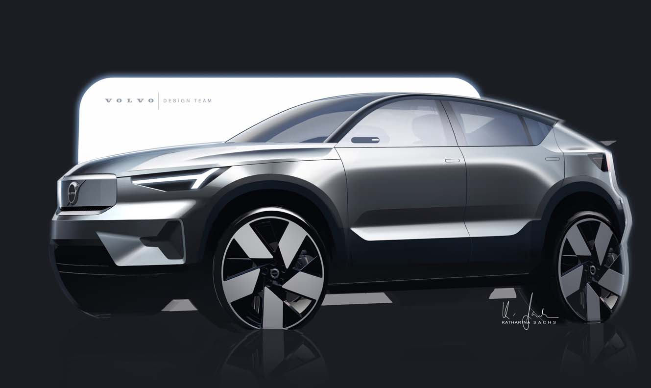 The Volvo C40 Recharge Design Story