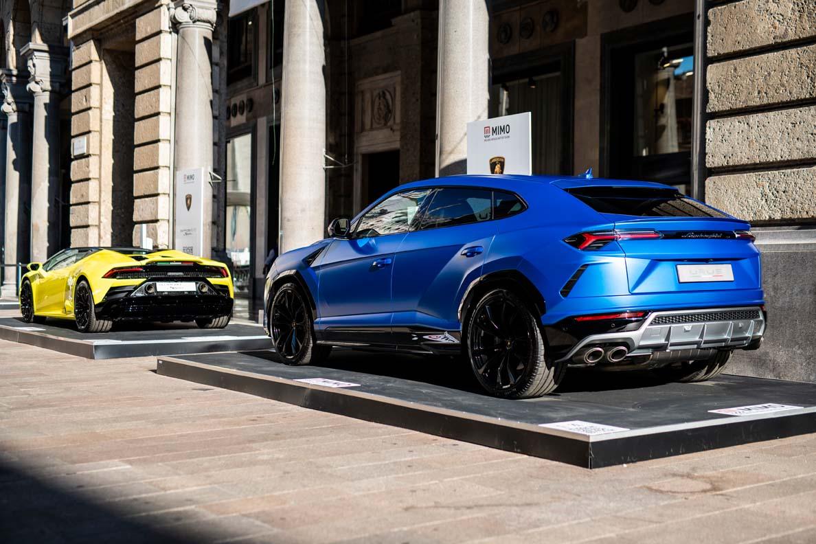 Lamborghini At The Milan Monza Motor Show 2021