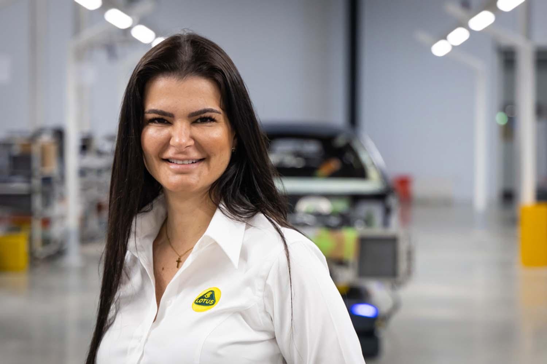 Barbara Garcia, Head Of Manufacturing Programmes At Lotus, Wins The Autocar Great Women: Rising Stars Award For Manufacturing