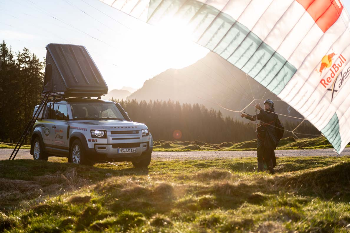 Land Rover Defender Supports The World's Toughest Adventure Race