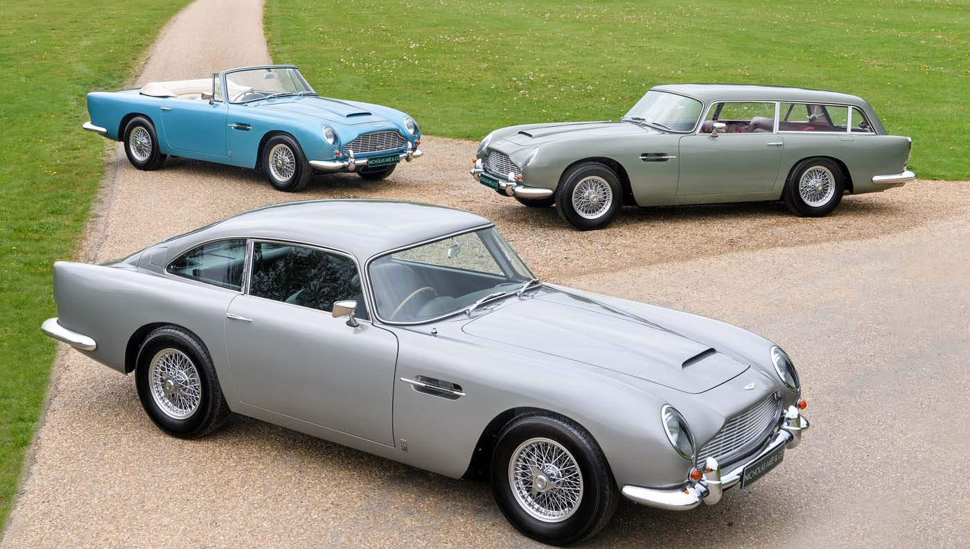 Once-In-A-Lifetime Collection Of Aston Martin DB5 Vantages Comes To Market