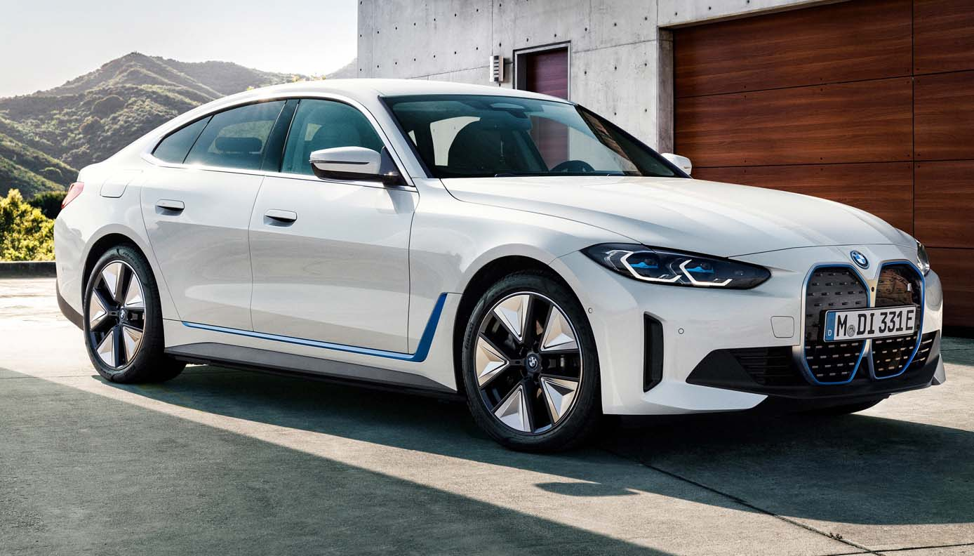 The First-Ever Production BMW i4
