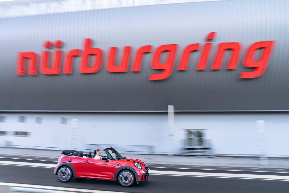 MINI John Cooper Works Convertible For 24 Hours At The Nürburgring