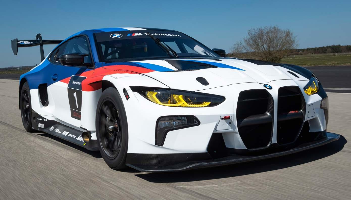 BMW M Motorsport presents the BMW M4 GT3 at the Nürburgring: