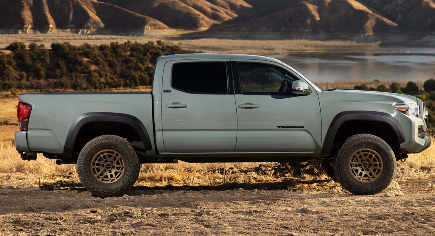 New 2022 Toyota Tacoma Trail Edition 4×4 is Ready for Adventure